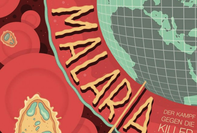 Comic des internationalen Forscher Netzwerks EVIMalaR