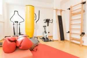 Sport- und Fitneßraum im Frühbehandlungszentrum für junge Menschen in Krisen.
