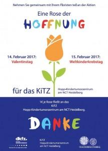 Plakat Rose der Hoffnung