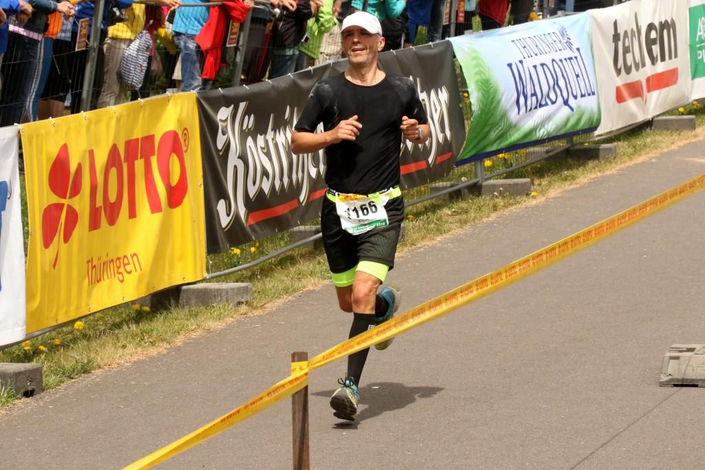 Klaus Bensching beim Laufen 1