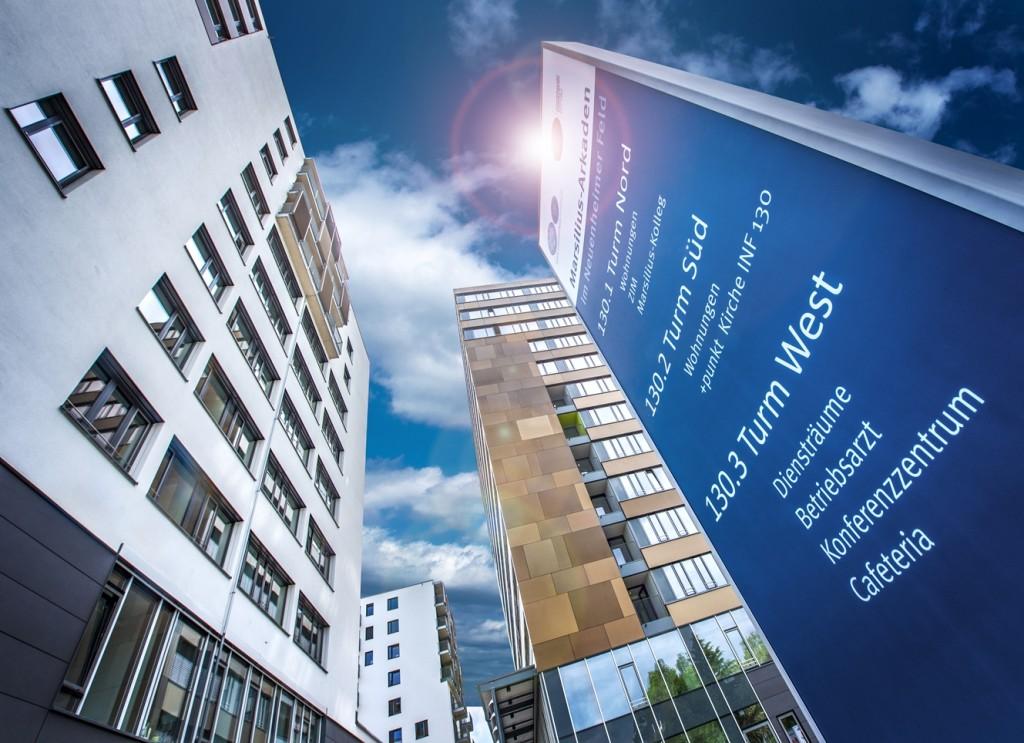 Seit März 2016 gibt es den +punkt in den Räumen der Marsiliusarkaden im Neuenheimer Feld. Er ist Ort der Begegnung für Patienten, Angehörige, Mitarbeitende der Kliniken und Forschungseinrichtungen sowie Studierende.